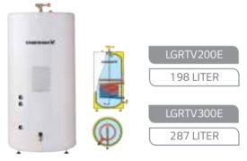 LG Tapwatervat 287l enkele spiraal, LGRTV300E