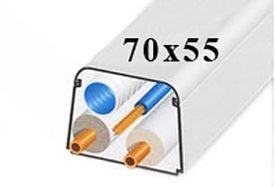 ClimaPlus Montagekanaal 70x55mm