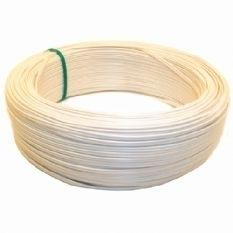 Soepele WITTE neopreen rubberkabel, H07RN-4x1,5 per meter WIT