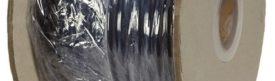 Soepele zwarte neopreen rubberkabel, H07RN-5x2,5